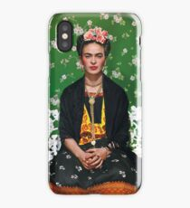 Frida Kahlo Vouge Cover poster high quality iPhone Case
