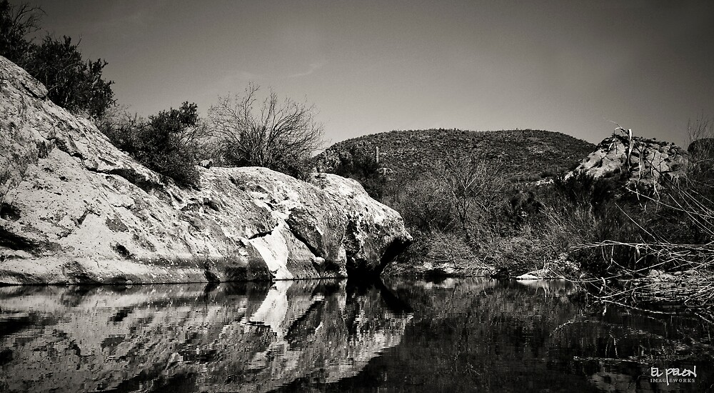 hidden lake by elpelon