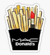 MAC Donalds Sticker