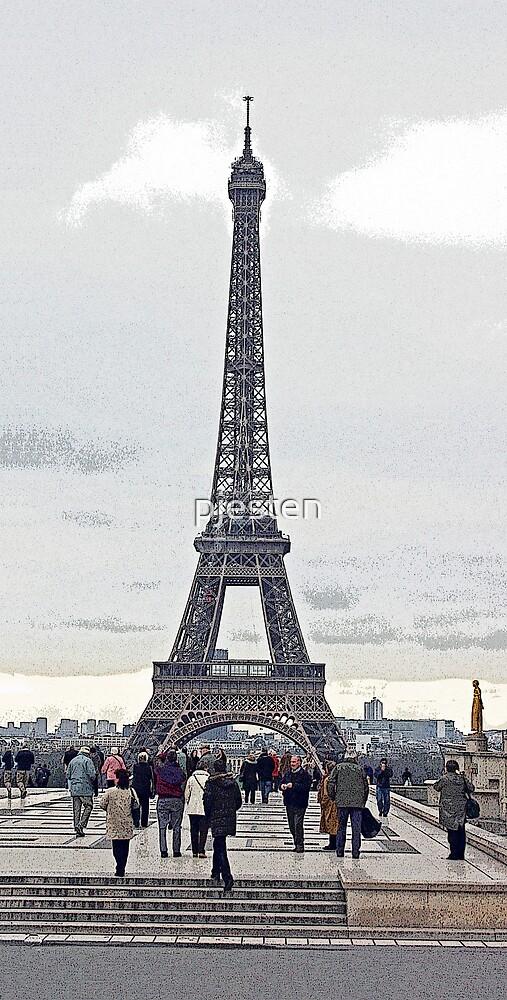 Eiffel Tower by pjesten