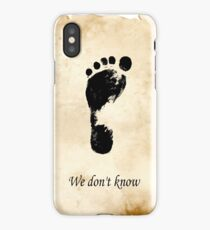We dont know Skyrim iPhone Case
