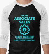 ASSOCIATE SALES - NICE DESIGN 2017 Men's Baseball ¾ T-Shirt