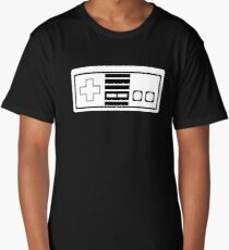 Nes - 8bit retro gamer Long T-Shirt