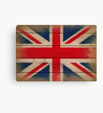 Battered But Defiant - Union Jack Canvas Print
