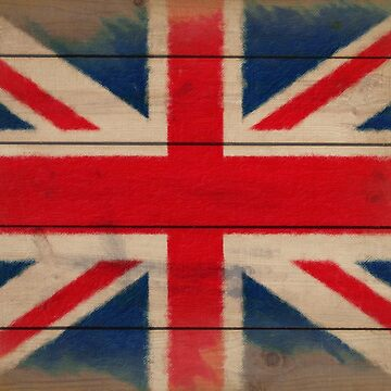 Battered But Defiant - Union Jack by Rasendyll