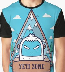 Yeti Logo Art Graphic T-Shirt