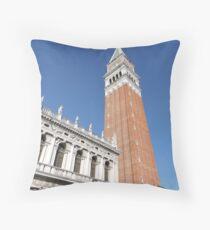 Campanile: Venice Throw Pillow