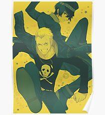 Kanji and Naoto  Poster