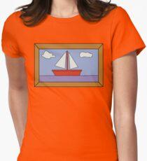 Sail Boat Artwork T-Shirt