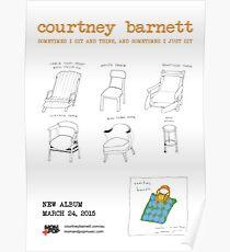 Courtney Barnett - Sometimes I Sit and Think   Album Poster Poster