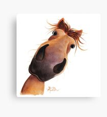 HAPPY HORSE 'MAD MAX' Canvas Print