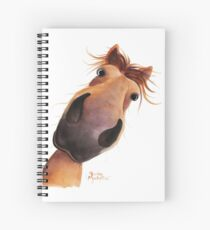 HORSE PRiNT 'MAD MAX' BY SHiRLeY MacARTHuR Spiral Notebook