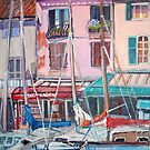 Cassis Harbor by Teresa Dominici