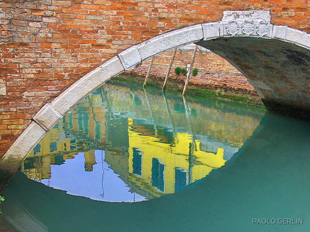 Reflexions of Venice by PAOLO GERLIN
