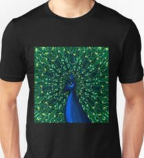 Peacock in the Park Unisex T-Shirt