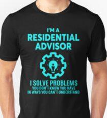 RESIDENTIAL ADVISOR - NICE DESIGN 2017 Unisex T-Shirt