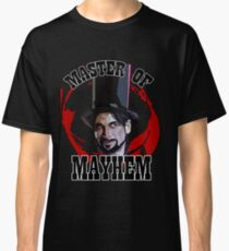 Master Of Mayhem. Julian Slink. Blood Drive Classic T-Shirt