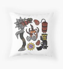 Krieg's Inventory Throw Pillow