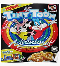 Tiny Toon Adventures cereal Poster