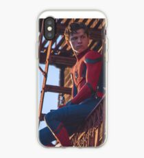 Tom Holland - Spidey iPhone-Hülle & Cover