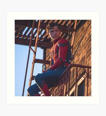 Tom Holland - Spidey Art Print