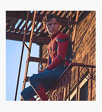 Tom Holland - Spidey Photographic Print