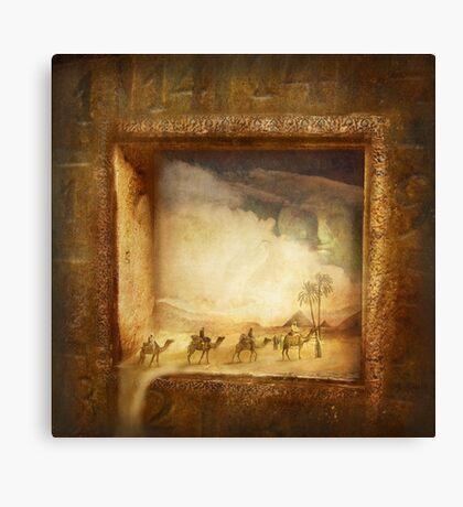 Caravanserei Canvas Print
