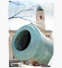 Canon, Ft. Leavenworth Poster