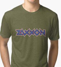 Zaxxon logo Tri-blend T-Shirt