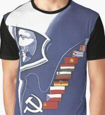 Yuri Gagarin, space race era, vintage Soviet propaganda poster Graphic T-Shirt