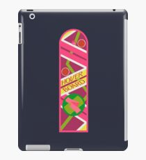 Back to the hoverboard! iPad Case/Skin