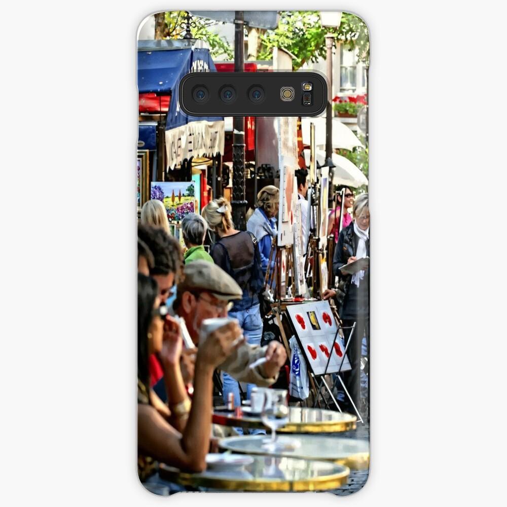 Montmartre café, Paris Samsung Galaxy Snap Case