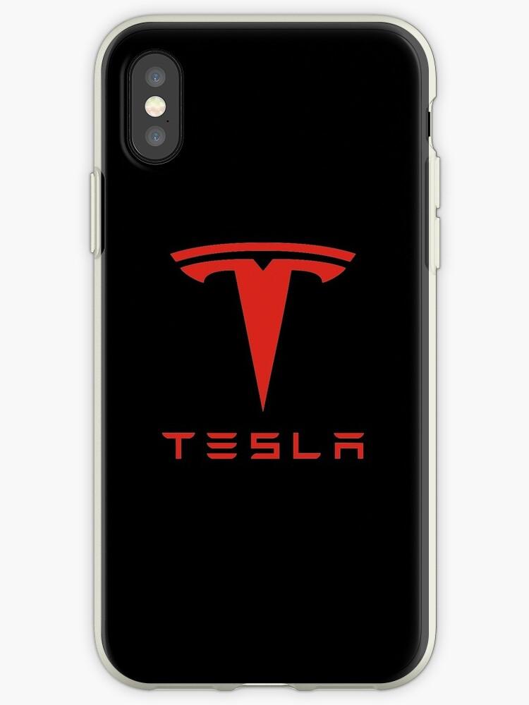 Tesla rotes Logo von Robert Dyer