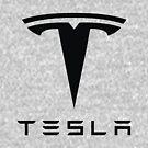 Tesla schwarzes Logo von Robert Dyer