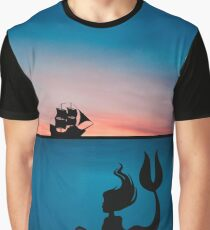 Mermaid Silhouette (The Unseen) Graphic T-Shirt