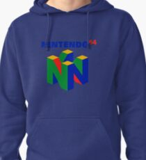 Nintendo 64 Merchandise Pullover Hoodie