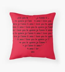 Love Speaks All Languages Throw Pillow