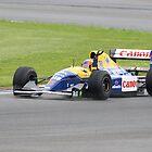 Williams 40th Anniversary - Nigel Mansell F1 FW14B Closeup by PathfinderMedia