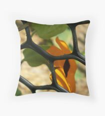Entrapment Throw Pillow