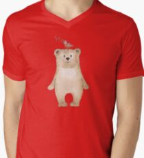 Teddy bear and songbird T-Shirt