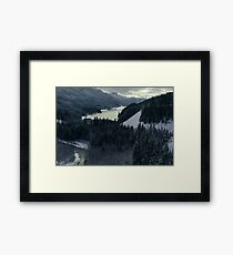 MINDS IN NATURE|BRANDYWINE FALLS|PROVINCIAL PARK|WHISTLER|CANADA|MODERN PRINTING/1Pc #27224641 Framed Print