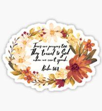 Psalm 56:8 Sticker