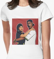 Poetic Justice  Fitted T-Shirt