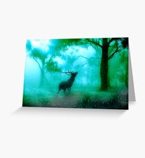 Deer 2. Greeting Card