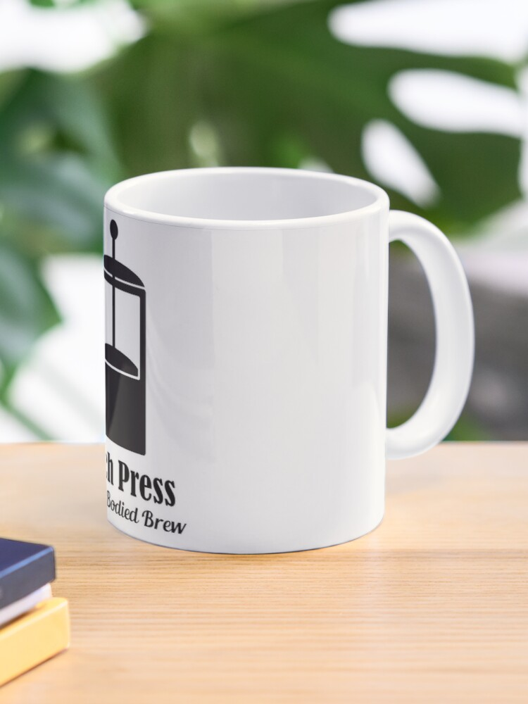 taza french press cold brew coffee plunger love quotes de