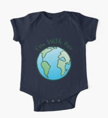 Mother Earth Climate Change Global Warming T-Shirt Kids Clothes