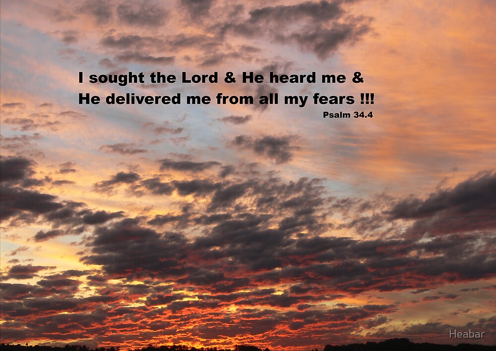 I sought the Lord !!! by Heabar