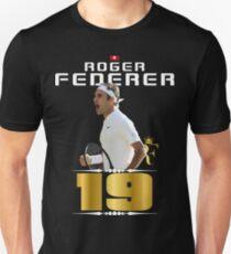 Roger Federer 19th Tshirt T-Shirt