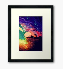 Ocean of Colors Framed Print