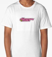 The Powerpuff Girls Logo Long T-Shirt